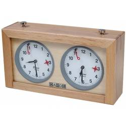 Rellotge analògic escacs Garde