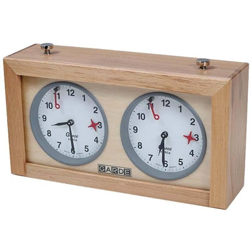 Reloj analogico ajedrez Garde