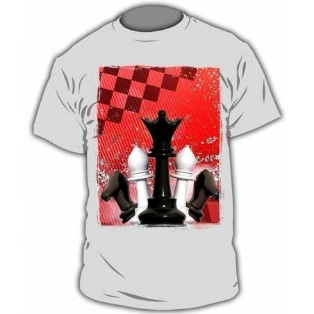 Camisetas con diseños de ajedrez modelo 13