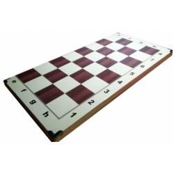 80x80 cm mural chess board marquetry