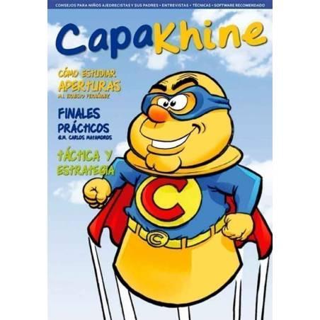 Revista ajedrez Capakhine nº 1. Mitad para niños mitad para padres