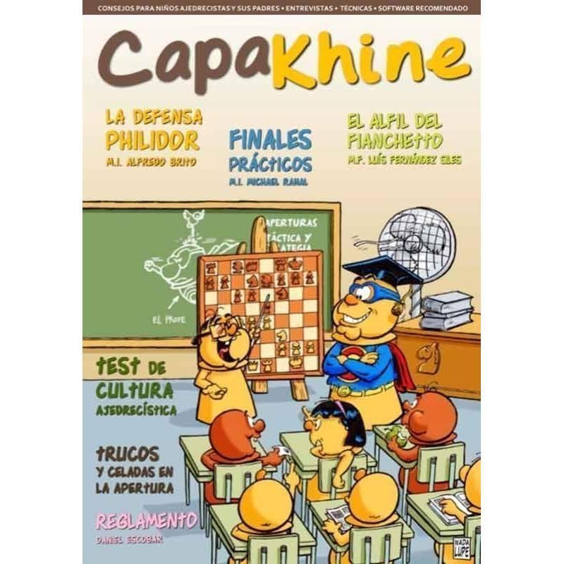 Chess magazine Capakhine nº 3. Half for children half for parents