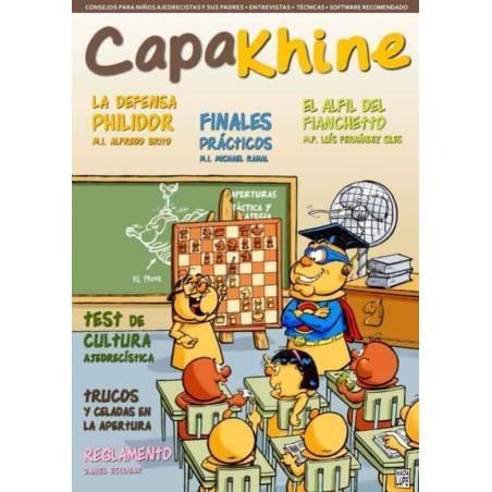 Revista escacs Capakhine nº 3. Meitat per a nens meitat per a pares