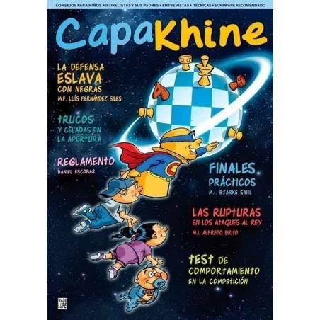 Chess magazine Capakhine nº4. Half for children half for parents