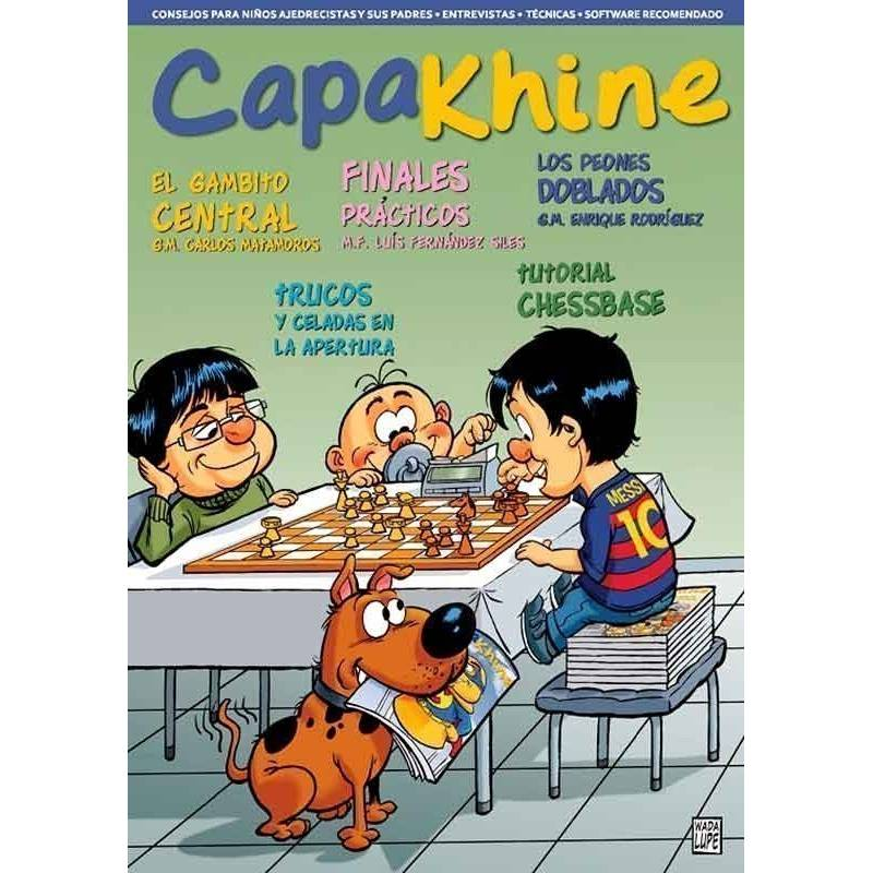 Chess Magazine Capakhine nº 5. Half for children half for fathers