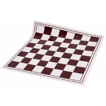 Tauler escacs enrotllable marró