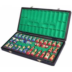 Chess Olympic magnetic assembly