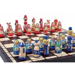 Conjunto magnético ajedrez Babubshka
