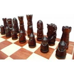 Conjunto ajedrez de lujo Castle 60 cm.