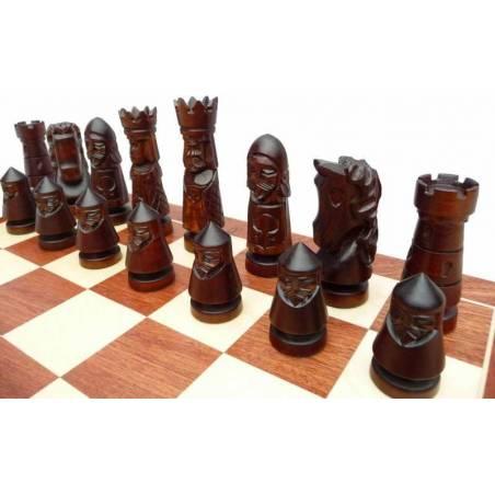 Conjunt escacs de luxe Castle 60 cm.