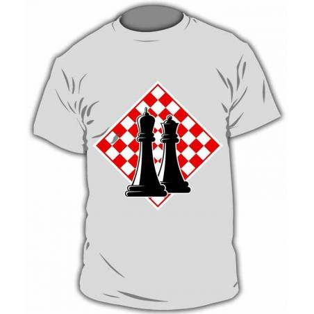 Camiseta ajedrez modelo 15