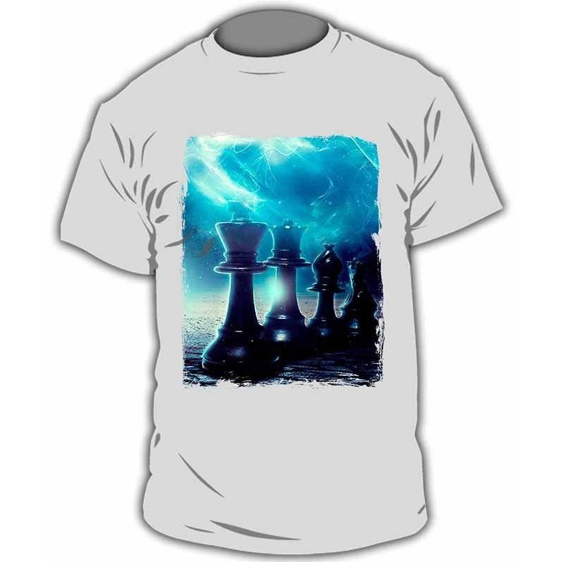 Chess T-shirt model 16