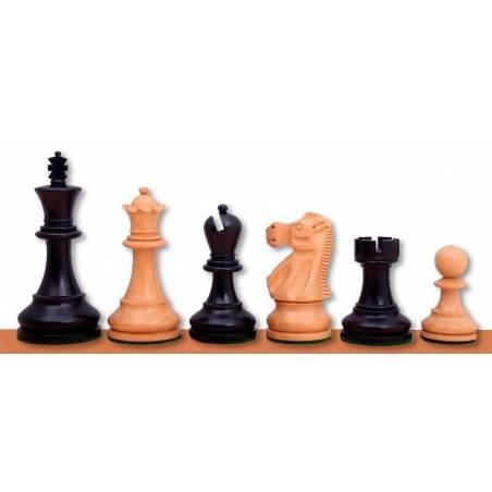 Piezas madera ajedrez modelo Jaques