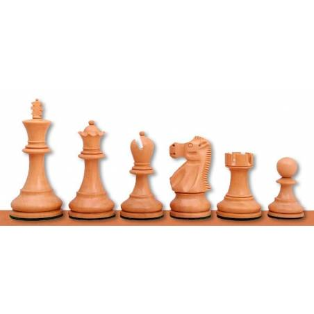Chess pieces wood model Reyjkavic Jaques
