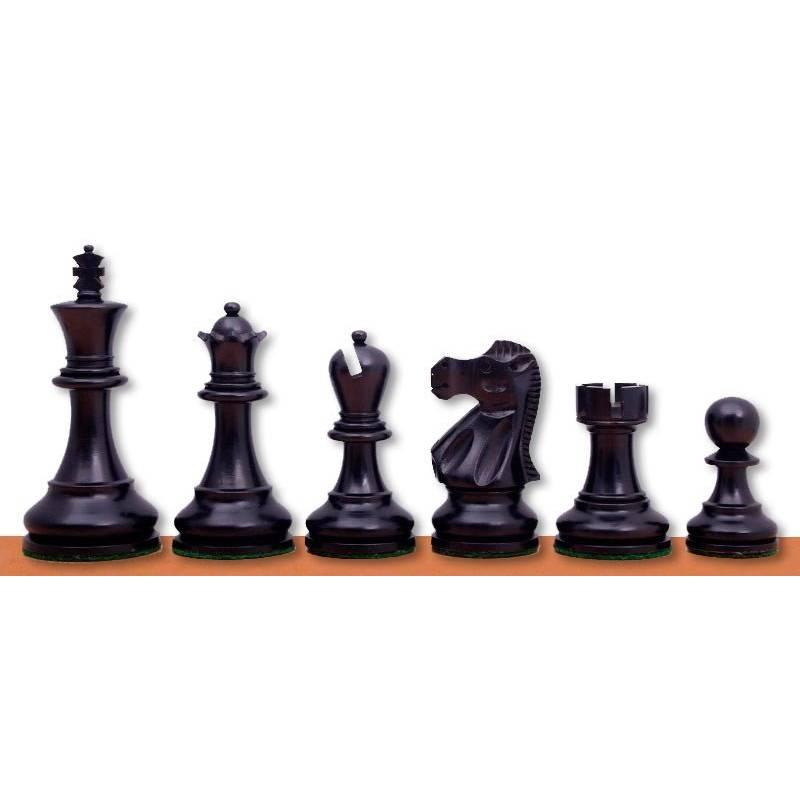 Piezas madera ajedrez modelo Reyjkavic Jaques