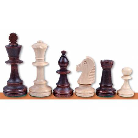 Chess wooden pieces Staunton style