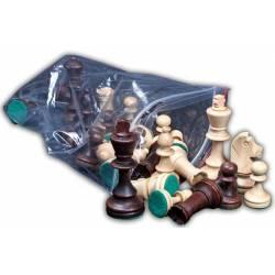 Piezas ajedrez madera Estilo Staunton