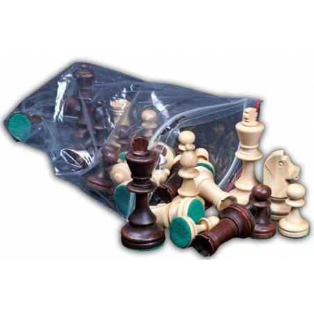 Peces escacs fusta Estil Staunton