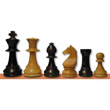 Piezas ajedrez madera Staunton Europa