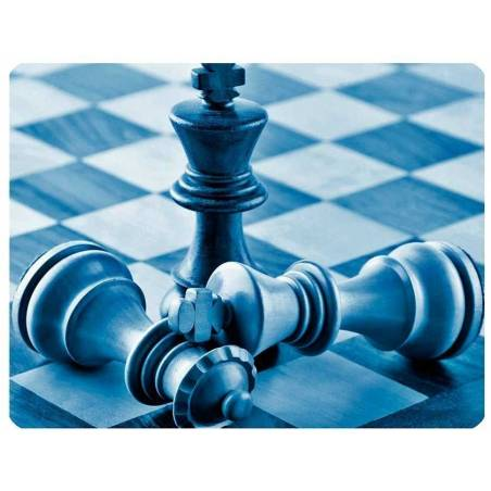Mousepad with designs of chess model 1
