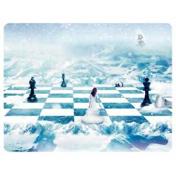 Mousepad with designs of chess model 2