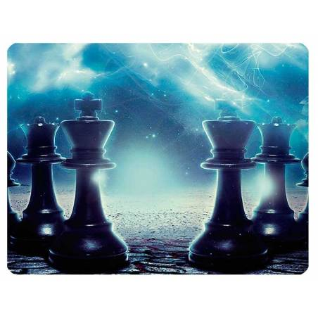 Mousepad with designs of chess model 6