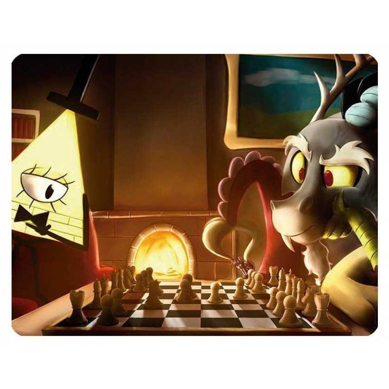 Mousepad with designs of chess model 8