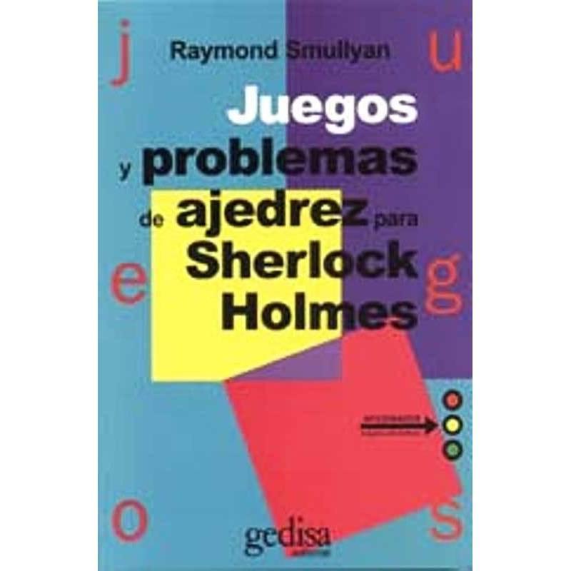 Llibre escacs Jocs i problemes d'escacs per Sherlock Holmes