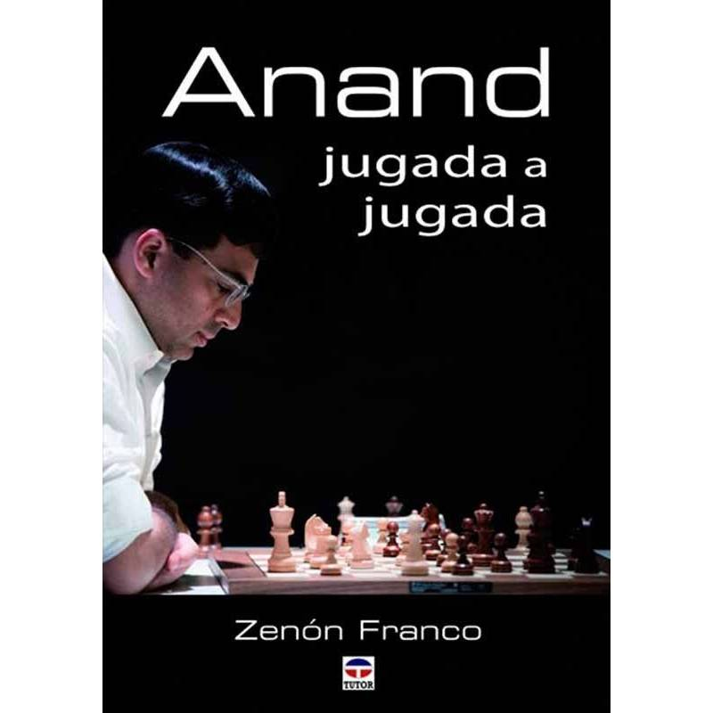 Libro ajedrez Anand jugada a jugada