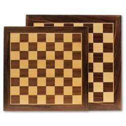 Tablero ajedrez marquetería 35 o 40 cm.