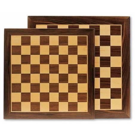 Tauler escacs marqueteria 35 o 40 cm.