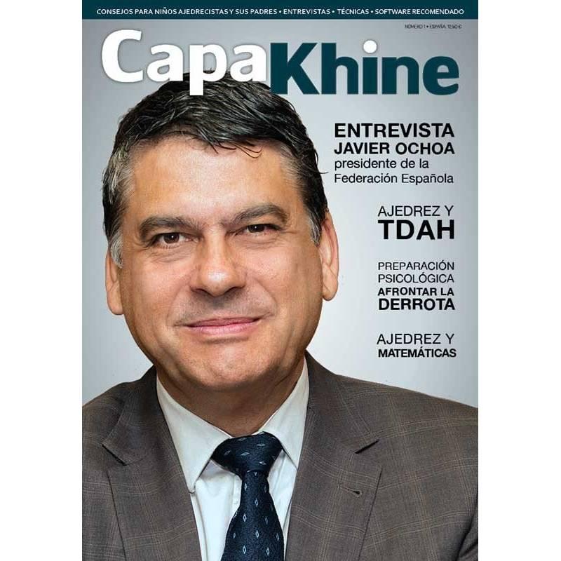 Revista ajedrez Capakhine nº 2. Mitad para niños mitad para padres