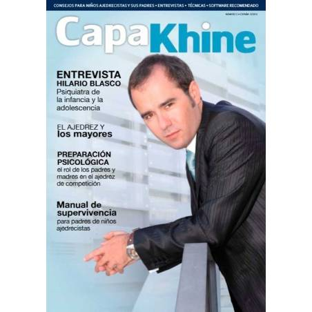 Revista ajedrez Capakhine nº 3. Mitad para niños mitad para padres