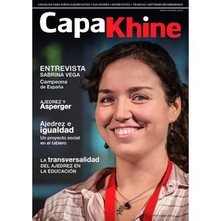 Revista ajedrez Capakhine nº 4. Mitad para niños mitad para padres