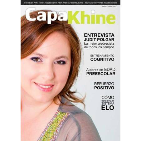 Chess magazine Capakhine nº 5. Half for children half for parents