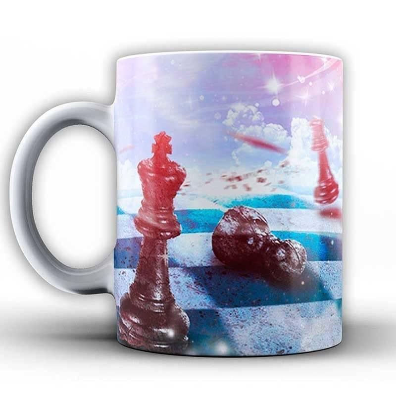 Tazas con diseños de ajedrez modelo 1