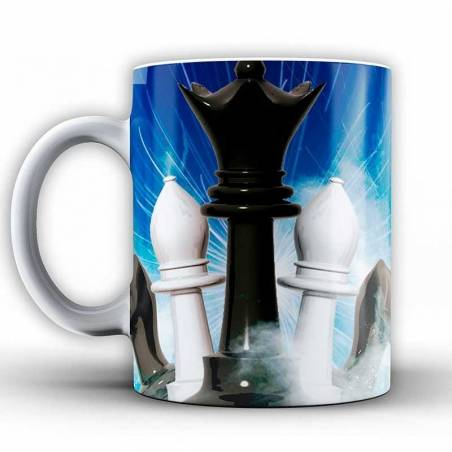 Cup with chess design model 9