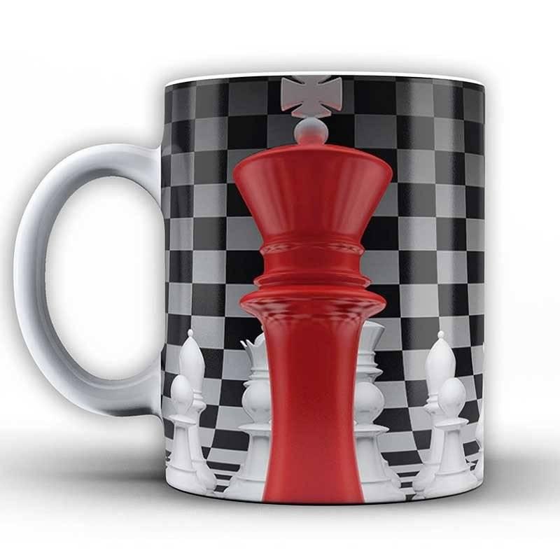 Tasses amb dissenys d'escacs model 5