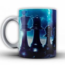 Tasses amb dissenys d'escacs model 3
