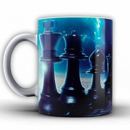 Cups with chess designs model 3