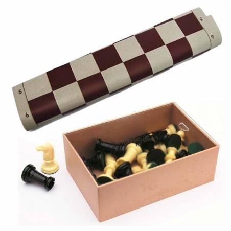 Tablero y piezas ajedrez ideal para colegios