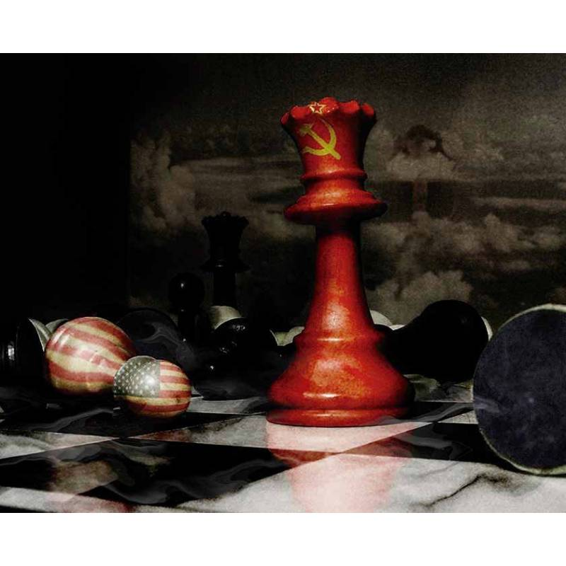 Mousepad with designs of chess model 9