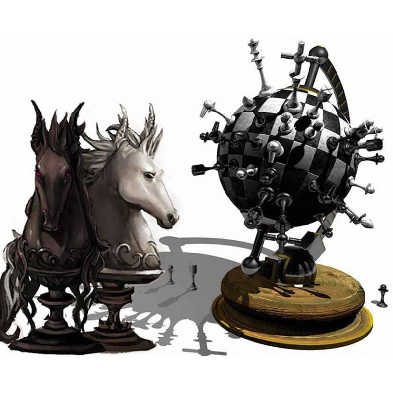 Alfombrillas con diseños de ajedrez modelo 10