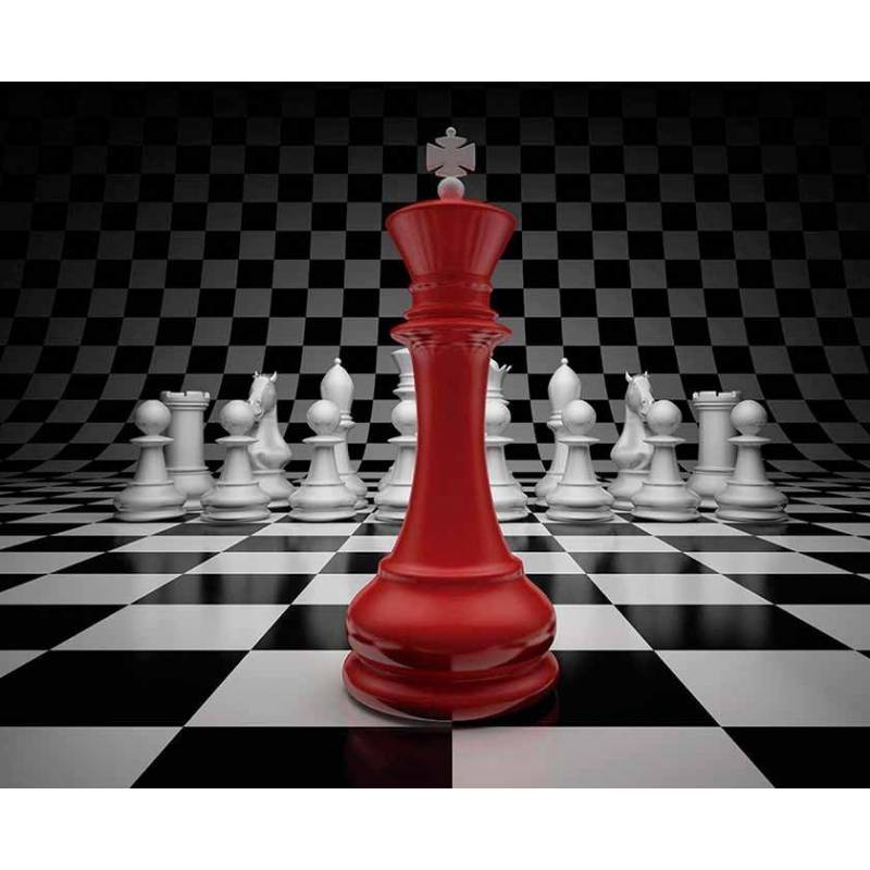 Mousepad with designs of chess model 13