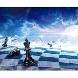 Alfombrillas con diseños de ajedrez modelo 14