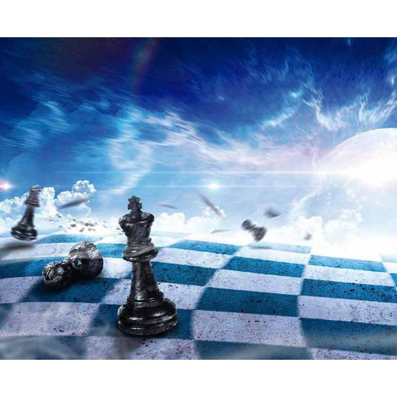 Mousepad with designs of chess model 14