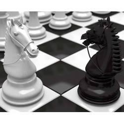 Alfombretes amb dissenys d'escacs model 15