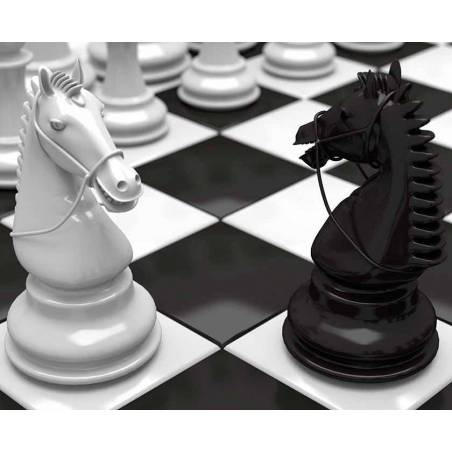 Mousepad with designs of chess model 15