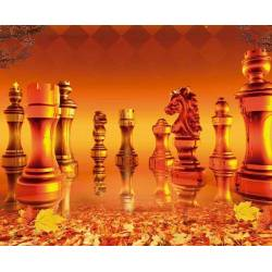 Mousepad with designs of chess model 18