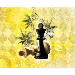 Alfombrillas con diseños de ajedrez modelo 19